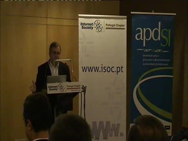 Net Neutrality - Neutralidade da Internet: Problemática, estado da arte em Portugal - Dias Coelho (Presidente da APDSI)