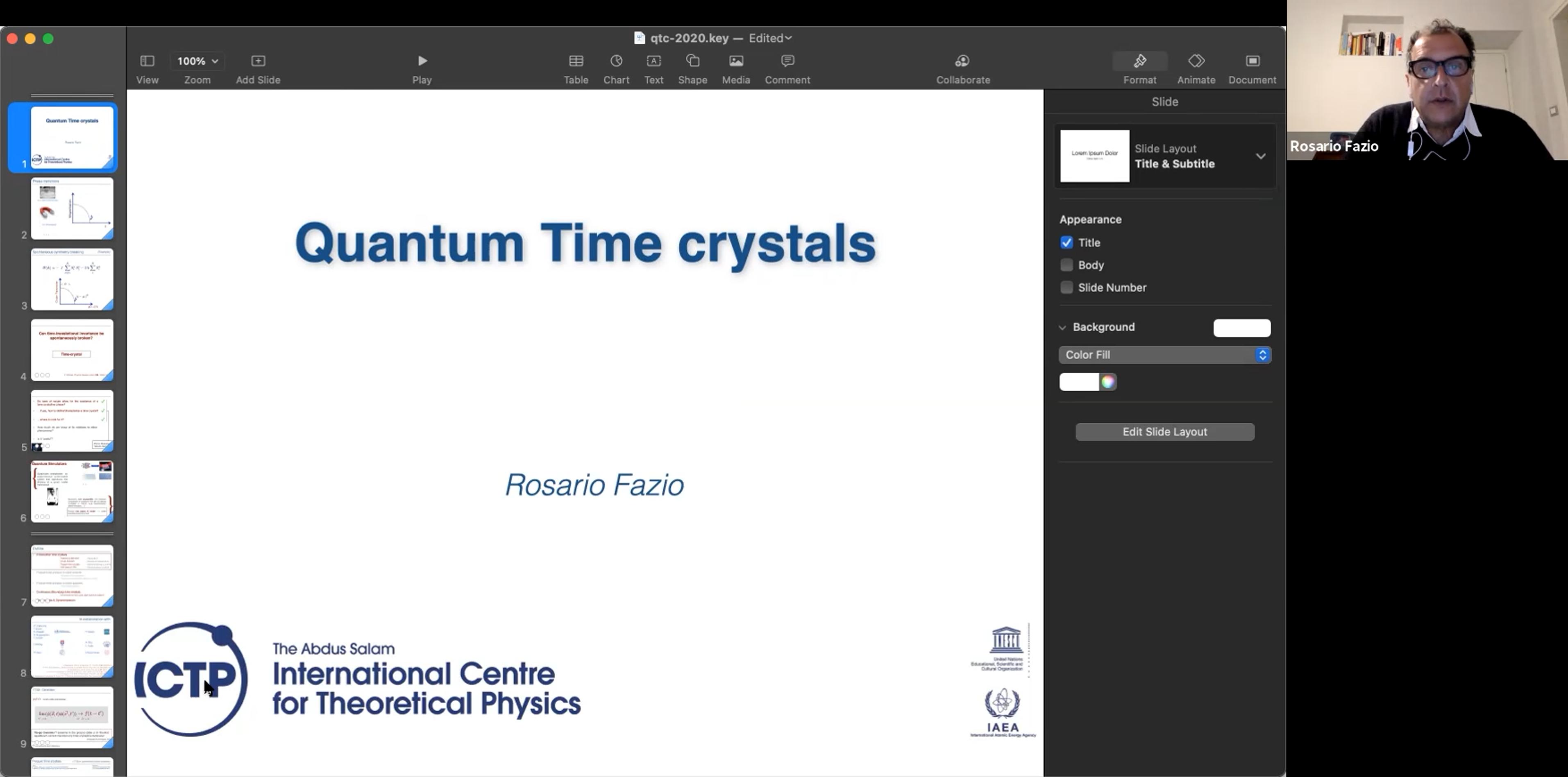 2021.10.18 Quantum time crystals
