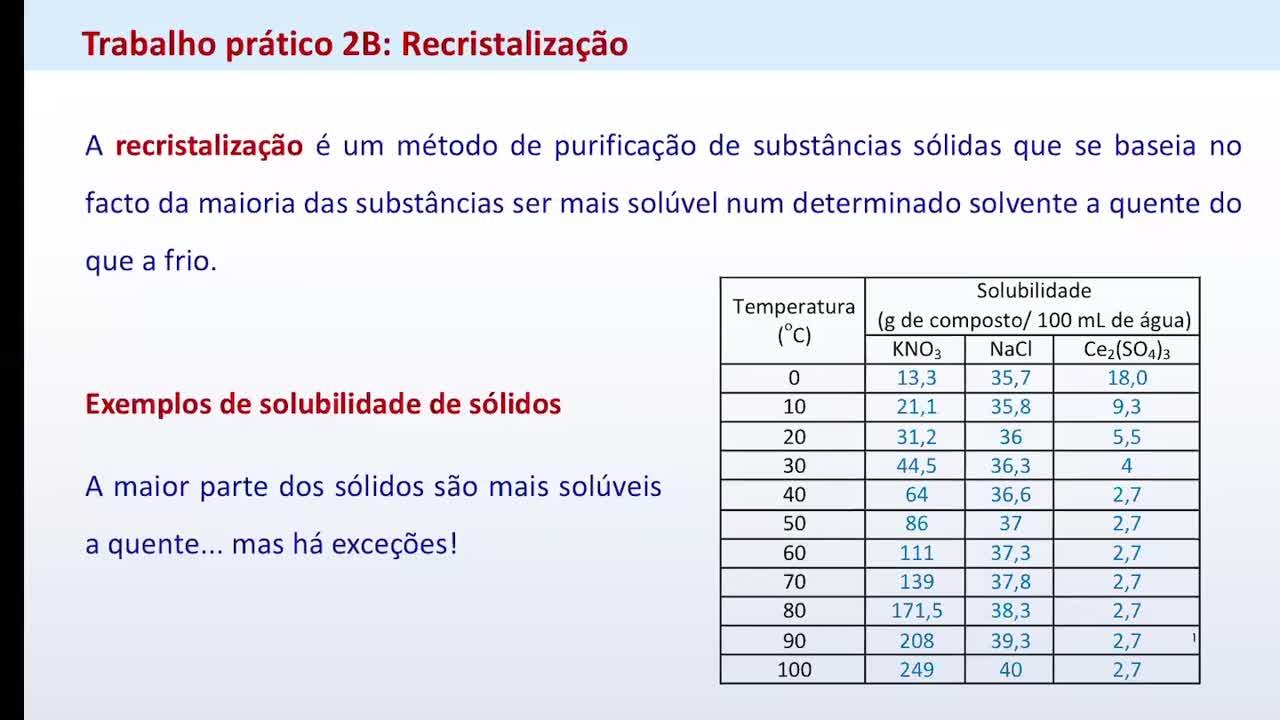 P2B recristalização