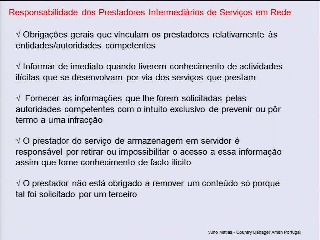 Net Neutrality - Neutralidade da Internet: Problemática, estado da arte em Portugal - Nuno Matias