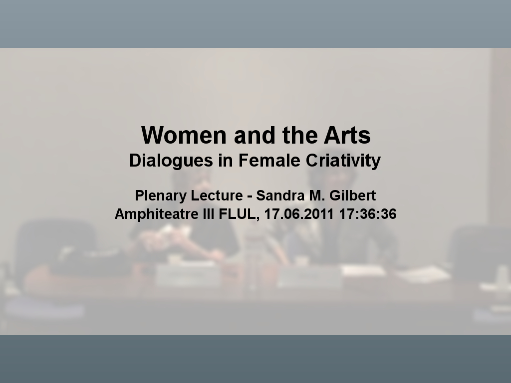 Women and the Arts