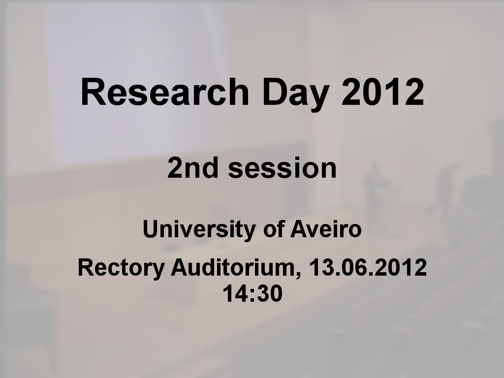 Research Day 2012