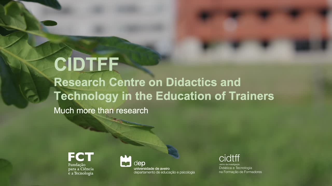 CIDTFF - Research Centre on Didactics and Technology in the Education of Trainers