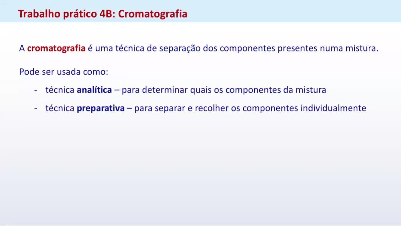 P4B cromatografia