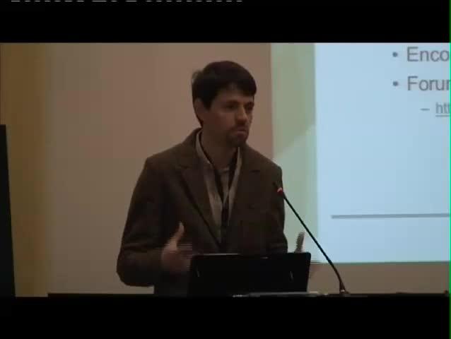 Jornadas FCCN 2012 - Rui Ribeiro, Banco de V�deo