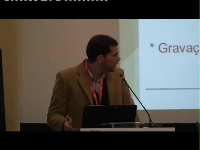 Jornadas FCCN 2012 - Vitor Chixaro, Ambiente Colaborativo Multimédia