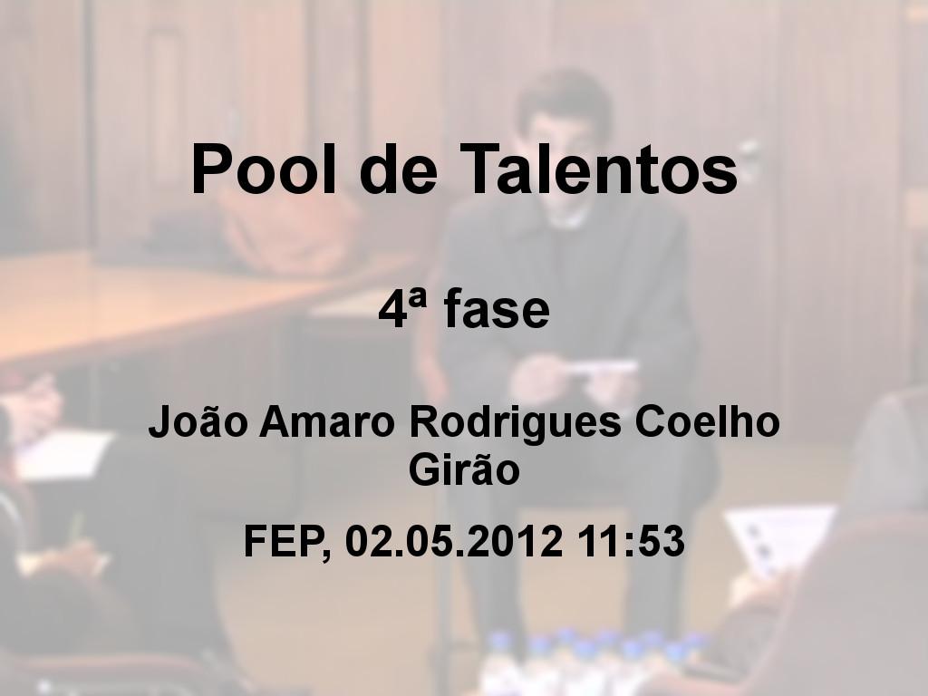 Pool de Talentos