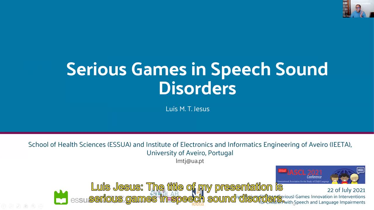 Serious Games in Speech Sound Disorders