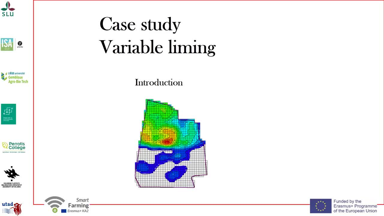 Introduction to the case study about liming