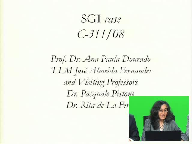 Sessão de e-learning SGI Case