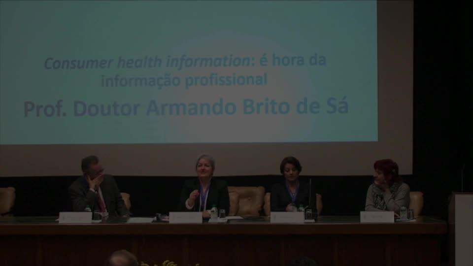 Consumer health information: é hora da informação profissional
