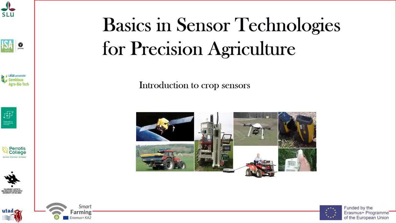 Introduction to crop sensors