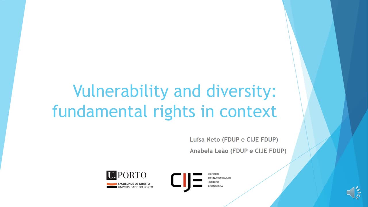Vulnerability and diversity: fundamental rights in context
